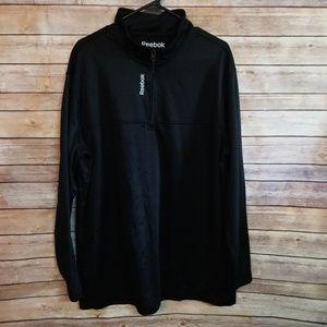 Men's Reebok quarter zip pullover
